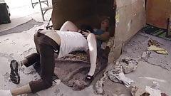oral Samantha Rone blonde fucks homeless man and gets creampied vagina