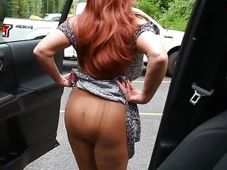 Pantyhose from my truck - Truck flashing.