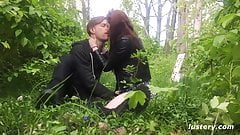 Hot Steamy Sex in the Woods