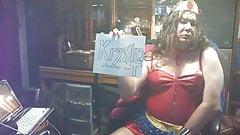 Crosdress Wonder Woman