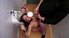 Slave girl gets Golden Shower