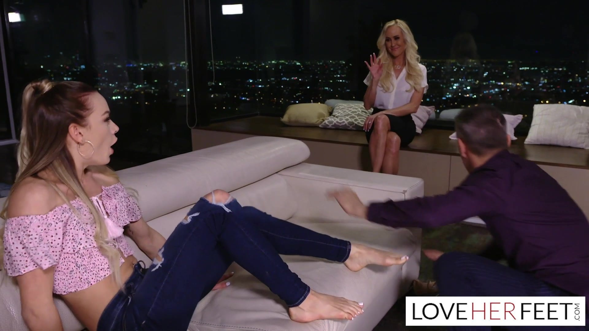 Brandi Love Teaches Stepson