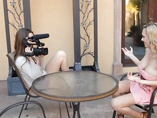 Dani miles pussy Lesbian interview - brett rossi dani daniels