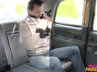 Gay porn in the uk Femalefaketaxi fat cock stretches pussy in uk taxi