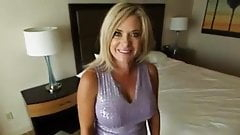 Eager Blonde MILF