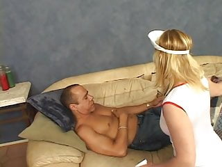 Mature full figure porno Full-figured blonde nurse with tramp stamp kneels to suck dudes dark cock