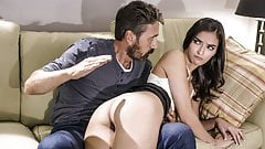 Emily Willis Gets Spanked By Stepdad
