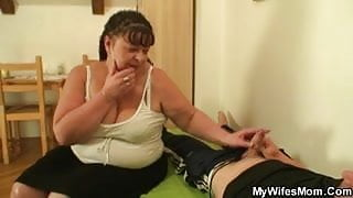 I just fucked my fat mother in law