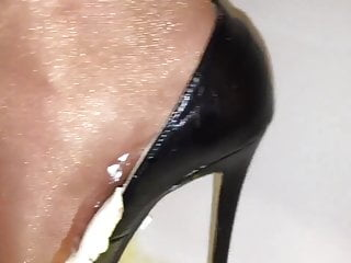 Whipped cream throat fucking video Her party heels vs whipped cream