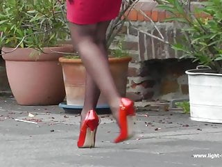 7inch high heels videos xxx 7inch red pumps