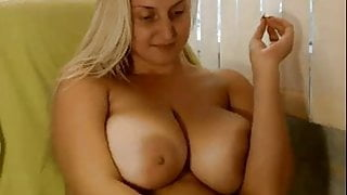 Hot blonde big boobs and big ass