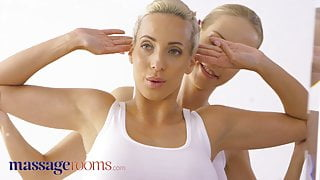 Massage Rooms – Czech blondes Emily Bright and Florane Russell
