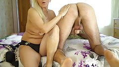 Grandma Loves Sensual Oil with younger boys. Gilf Vs Young