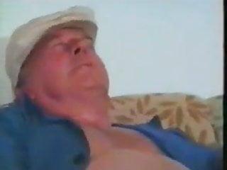 Great handjob facial - Grandad cum great