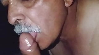 Daddy suck cock