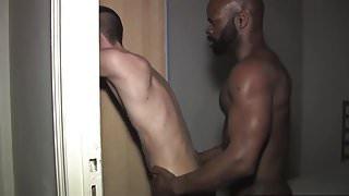black daddy fucks boy