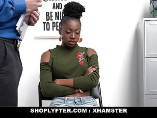 Punished teen creampie Shoplyfter - ebony teen gets punished with creampie