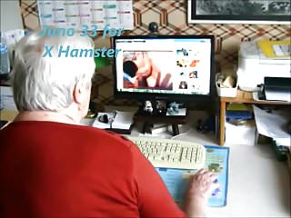 Hamster porn videos cum shotz Granny watching x hamster
