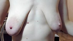 saggy empty natural boobs