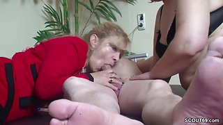 Real German Couple in Female Porn Casting