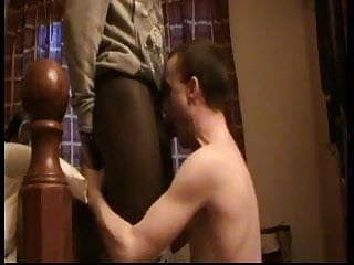 Boy daddy gay young White boy blows black cock