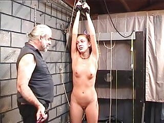 Bdsm kinky sex Bound bitch cries after kinky spanking