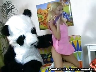 Freewebs sexy panda 11 Striptease and hot fuck for shy panda