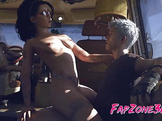 Cartoon free game sexy Sexy 3d babes from games fuck in every hole collection
