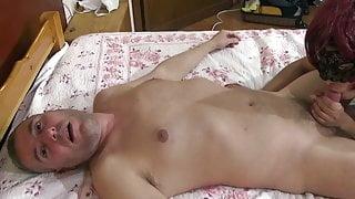 Bulgarian escort fucked and gets cum on feet