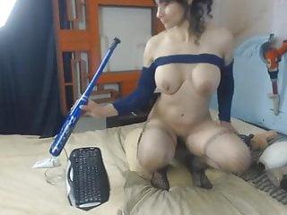 Big tit brunete - Busty brunete extemely fucks her deep holes