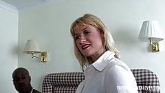 Kinky Granny in the hotel room