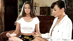 Lisa Ann and Cassidy Klein Naked Meditation