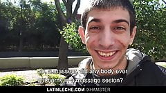 Latino Boy Takes A Dick In Virgin Ass