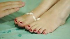 Sofia s Feet - Footjob