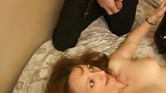 French mature Celine anal fucked