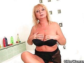 Busty grandma seduces Busty grandma irena collection