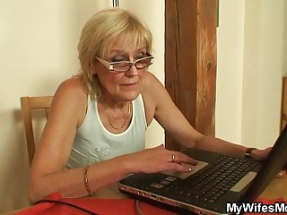 Mother inlaw bondage Fucking old not my mother inlaw on the table