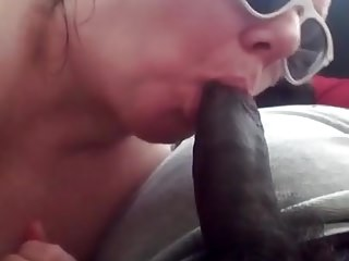 Sorry girls i suck dick - I suck his big dick. he fucks my pussy and cums in me