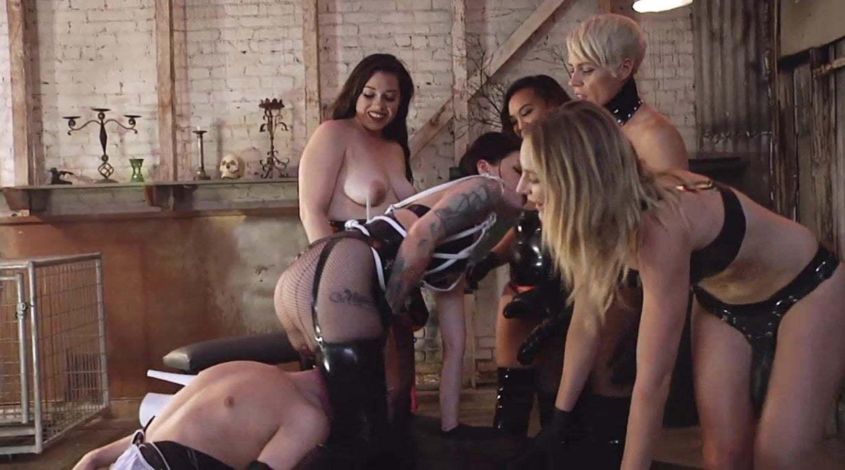 Amateur Humiliation Strapon Porn male maid humiliated5 strap-on doms