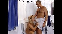 Fucking And Pissing In The Bathroom