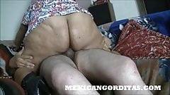 MEXICANGORDITAS.COM SABINA RIDES TILL INTERNAL CUMSHOT