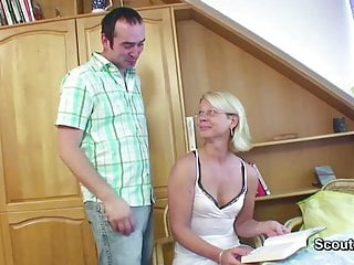 Watch mom get fucked Mom get fucked by german friend of her son when husband away