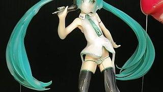 Miku Hatsune 11 figure bukkake(fakeCum)