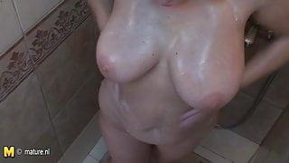 Nice day in female sauna