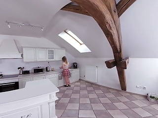 40-something porn - Czech vr 342 - something sweet in the kitchen