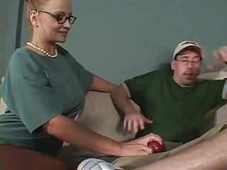Teachers and pupils fucking Mature teacher with huge boobs fucked by young pupil