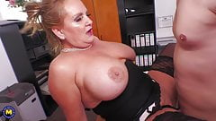 Yummy mature moms fuck young boys