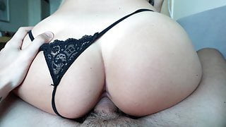 Stepsister Woke Up in My Apartment  - Creampied