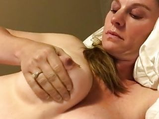 Fuck hot mamas - Hot busty mama masturbating on bed