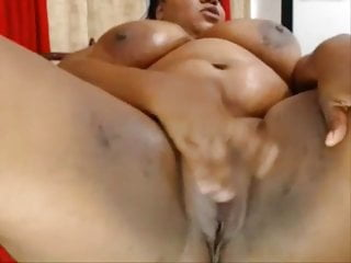 Huge cocks tight cunts - Fat black colombian milf rubbing her huge cunt
